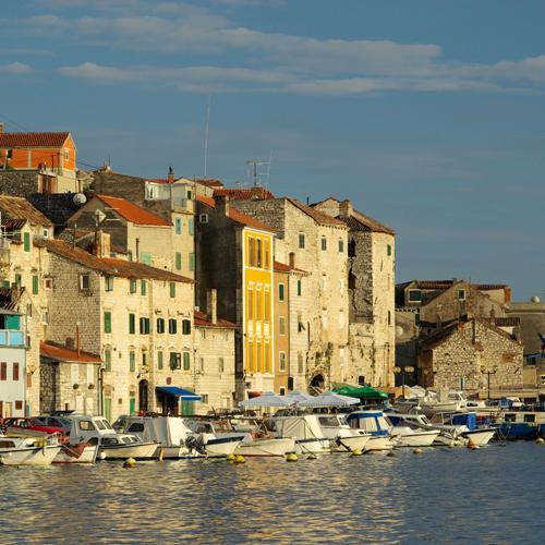 zeilvakantie kroatie sibenik haven